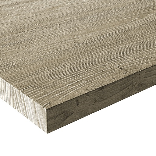 Rustic Light Laminate Outdoor  Dining Table Tops
