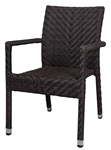 Outdoor Furniture Wicker Restaurant Dining Chair