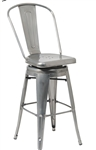 Swivel Bar Stool Industrial Seating
