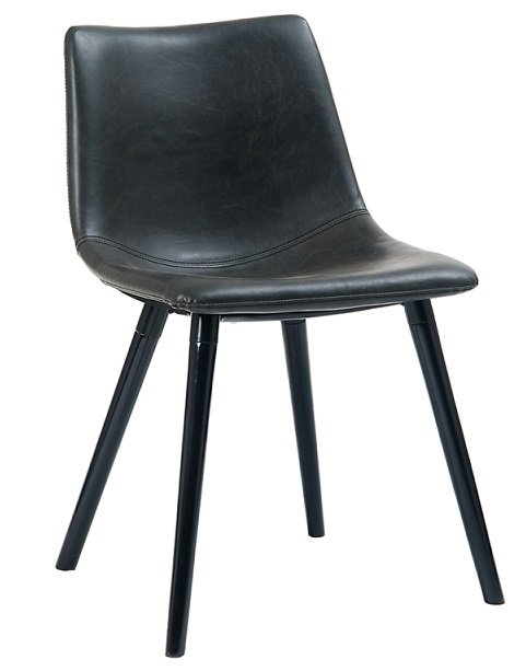 Industrial Upholstered Dining Chairs