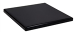 Black Resin Tabletops now available for Indoor & Outdoor Commercial use