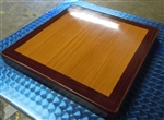 Imported Design: Cherry with Mahogany Edge: Epoxy Resin Dual Tone