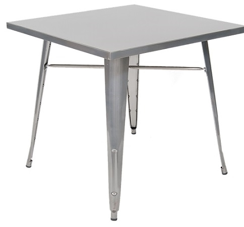 Industrial Clear Steel Dining Tables