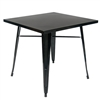 Industrial Black Steel Dining Tables