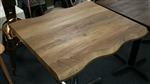 Live Edge Restaurant Wood MDF Tabletops
