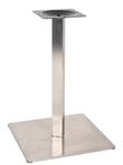 Stainless Steel Restaurant Table Bases: Indoor Use