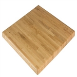 Natural OAK: Butcher Block/ Ready to ship