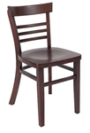 Small Ladder Back Restaurant Chair