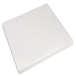 White Resin Tabletops now available for Indoor & Outdoor Commercial use