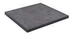 Outdoor HPL Laminate Table Top Black Aluminum Edge